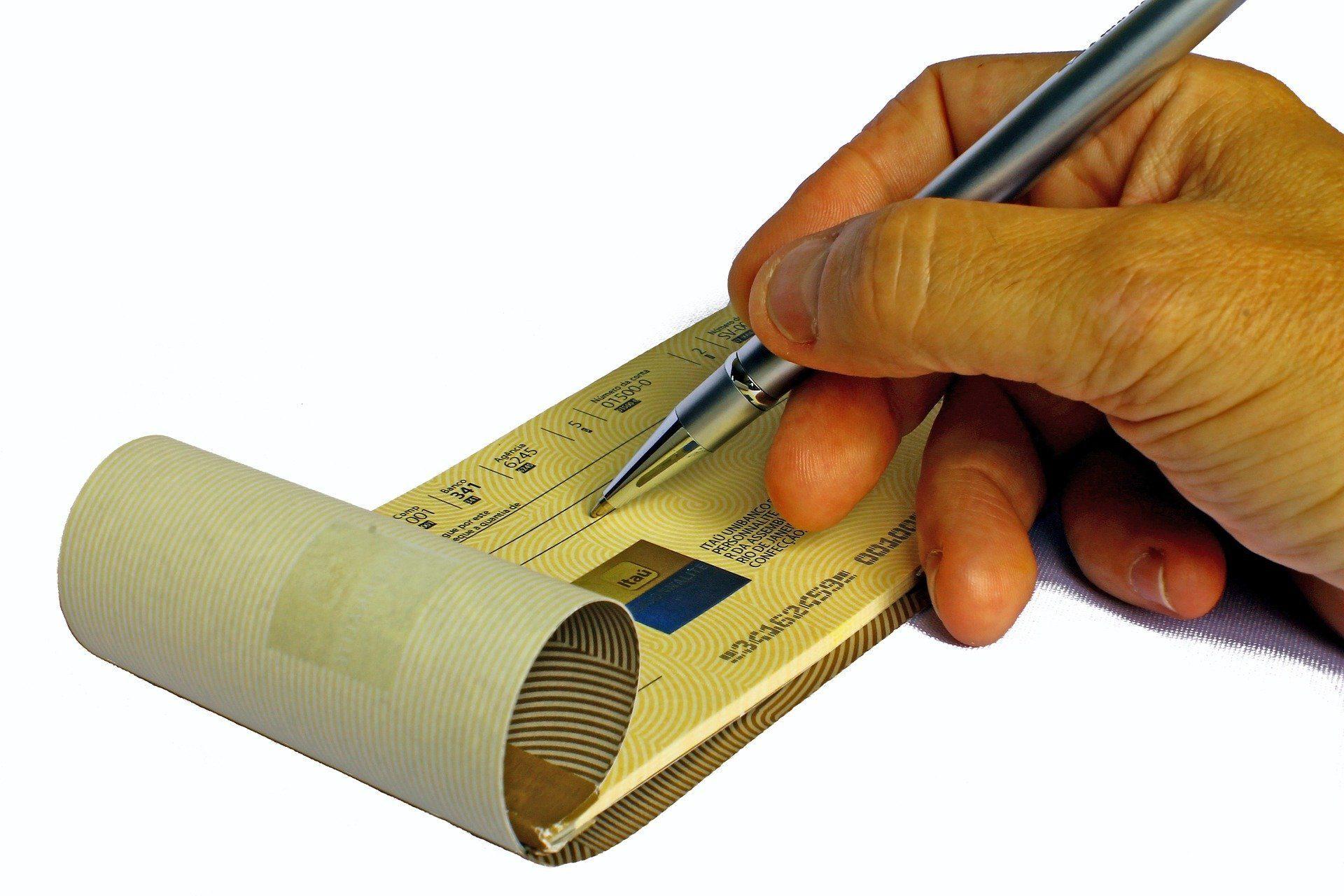 Opposition chèque de banque